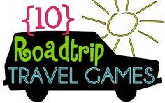 10 Travel Games Ideas