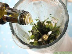 Image titled Freeze Basil add olive oil Step 5