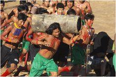 _MG_9372 A Etnia Kraho numa demonstração da Corrida da Tora no XII Jogos dos Povos Indigenas em Cuiabá Brasil. | Flickr - Photo Sharing!
