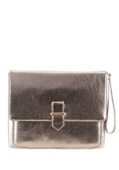 F&F Mock Buckle Metallic Padded Tech Clutch Bag £12 #GoingOut