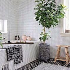 Inspiración para el baño --> bathroom, cuarto de baño,  blanco, decoración, interiors decoración nórdica,  scandinavian interiors, nordic home