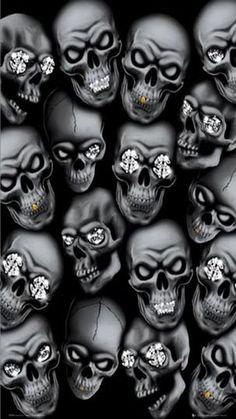 gansta skulls | Gangsta Skull Wallpaper Gangster skulls
