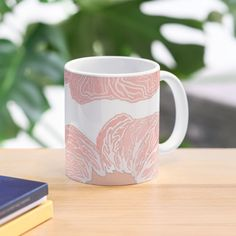 'Contour Flower Design' Mug by iouryRB My Bubbles, Get Free Stuff, Mug Designs, Sell Your Art, Flower Designs, Contour, Different Colors, Classic Style, My Arts
