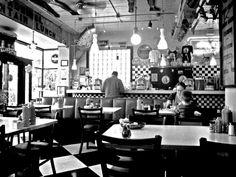 I wish these were still around...1950's Diner