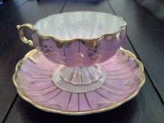 Vintage Royal Sealy Pink Tea Cup Set by Pickedtwice on Etsy, $44.00