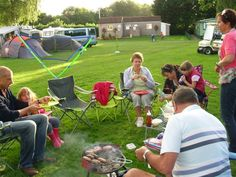 Here's a campsite right by the River Usk - Pyscodlyn Farm, between Abergavenny and Crickhowell. Separate field just for camping. For more places to stay: http://www.visitabergavenny.co.uk/pages/index.php?acCat_ID=8=listaccomm