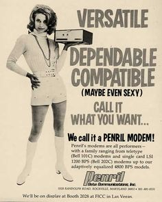 A Penril Modem!