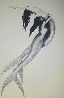 mermaid twins - gemini