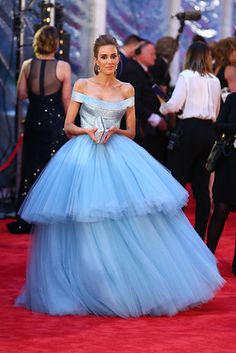 TV presenter Rebecca Judd reveals the candy floss coloured light blue celebrity prom ball gown 2016 TV Week Logie Awards Logies 2016 red carpet Rebecca Judd, J Aton Couture, Couture Mode, Couture Style, Blue Ball Gowns, Tulle Ball Gown, Red Carpet Dresses, Blue Dresses, Prom Dresses