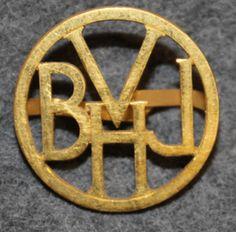 VBHJ, Varberg–Borås–Herrljunga Järnväg, Private Railway company, 1930-1940 Uniform Insignia