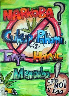 Contoh Gambar Poster Narkoba Yang Mudah Digambar Blog Pendidikan