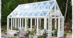 Build a greenhouse from old windows, how to. Build a greenhouse from old windows, how to. Lean To Greenhouse Kits, Greenhouse Growing, Greenhouse Plans, Window Greenhouse, Hydroponic Supplies, Greenhouse Supplies, Greenhouses For Sale, Wooden Greenhouses, Gardens