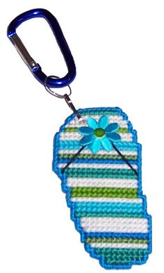 Really Neat Mini Beach Feet ...Key Chains