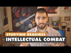 Studying Well Requires Intellectual Combat - College Info Geek - YouTube