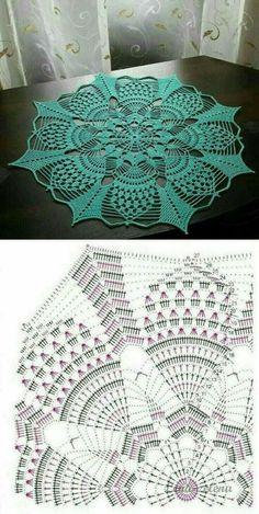 Crochet Tree, Crochet Mat, Crochet Dollies, Thread Crochet, Crochet Crafts, Free Crochet Doily Patterns, Crochet Placemats, Crochet Doily Diagram, Crochet Dreamcatcher Pattern