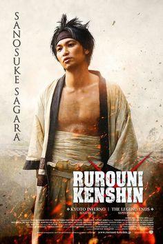 Munetaka Aoki as Sagara Sanosuke in the Rurouni Kenshin live action films. #RuroKen #Sano #RurouniKenshin