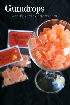 These homemade gumdrops are simple to make and are a wonderful Halloween treat. Made with real fruit juice!