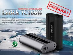 #giveaway - AVE40 Spring Festival Giveaway Round One #iStick TC100W