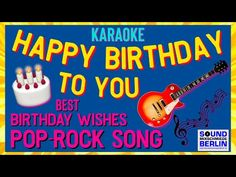 Happy Birthday Song for adult - YouTube Happy Birthday Instrumental, Happy Birthday Song Lyrics, Happy Birthday Song Youtube, Singing Birthday Cards, Birthday Wishes Songs, Birthday Wishes For Friend, Happy Birthday Video, Happy Birthday Greeting Card, Happy Birthday Young Man