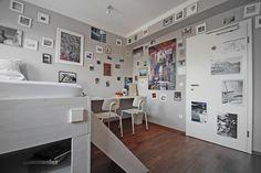 Pauls Zimmer in der wohngemeinschaft Köln - ein stylisches Fotostudio