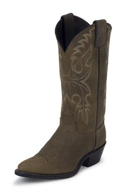 justin cowgirl boots perfect for a sundress kinda day!