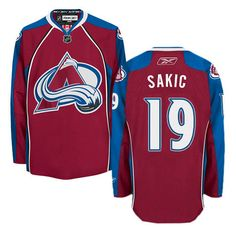 Youth Colorado Avalanche #19 Joe Sakic Red Home Jersey