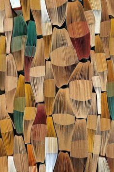 """Patterne book"" par l'artiste israélienne Gali Cnaani"