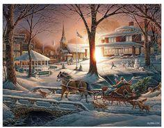 ☃ Christmas town ❆