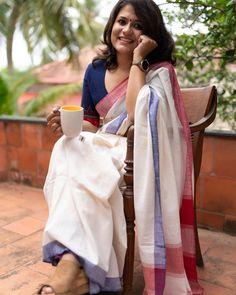 Time To Promote Aatm Nirbhar Bharat With Handloom Sarees Western Outfits, Saris, Victoria Beckham, Festivals, Burberry, Saree Floral, Formal Saree, Saree Jewellery, Crepe Saree