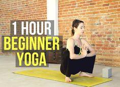 1 Hour Beginner Yoga Flow - All Levels Yoga for Strength & Flexibility https://youtu.be/aDpM-t-YLz0 via @YouTube