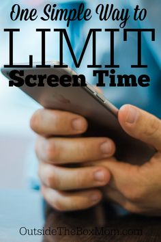 Does your tween or teen spend more time than you would like on their cellphone? I have ____ tips to help you monitor and minimize cell phone time.