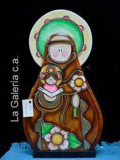 Pintura Country, San Antonio, Nativity, Religion, Religious Art, Craft, Drawings, Ideas, Decorative Wood Painting