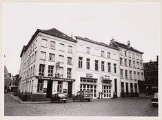 Gent: Hotel Picardie en ESSO-garage, Hooiaard