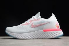 """fcfe2d502131 Buy Women Online Nike Epic React Flyknit """"Peppa Pig"""" White Pink from  Reliable Women Online Nike Epic React Flyknit """"Peppa Pig"""" White Pink  suppliers."""