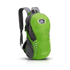 Cycling Hiking Backpack, Sunhiker Sports Outdoor Water Resistant Travel Backpack Lightweight SMALL Daypack for Hiking Cycling Travel M463 (Green) * READ MORE @: http://www.best-outdoorgear.com/cycling-hiking-backpack-sunhiker-sports-outdoor-water-resistant-travel-backpack-lightweight-small-daypack-for-hiking-cycling-travel-m463-green/