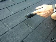 paint roof shingles | ... friendly space age cutting edge technology roof it is a diy roof