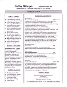 it resume great sample resume for it or tech professionals it resume