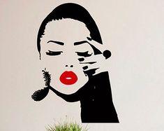Wall Decals Beauty Salon Nail Art Manicure Vinyl by BestDecals