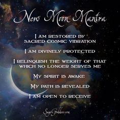 New Moon Mantra - Sage Goddess