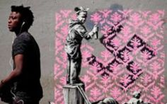 Banksy hits at Europe's refugee crisis with new murals in Paris