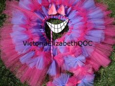 Cheshire Cat Costume Kit DIY No Sew Tutu by victoriaelizabethqoc