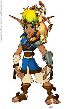 Jak #ConceptArt from #JakAndDaxterThePrecursorLegacy by #BobRafei