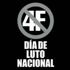 Hoy 4 de Febrero: Día mundial de la lucha contra el CÁNCER. Pero también día en el que apareció el mayor CÁNCER que haya conocido Venezuela. Sus consecuencias aún las seguimos padeciendo. Por nuestra desidia ciudadana y por la cobardía y traición de otros... Venezuela Despierta y Reacciona! #prohibidoolvidar #4F #Venezuela #freedom #armonia #MUD #pueblo #soberania #libertad