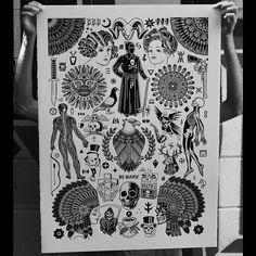 "MIKE GIANT x TOM GILMOUR 26""x36"" Silkscreen Print, Edition of 100"