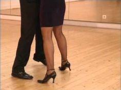 Cours de Tango argentin Milonguero (1/9) - Tenue du corps et la Salida - YouTube