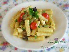 Insalata di pasta con ortaggi, ricetta estiva