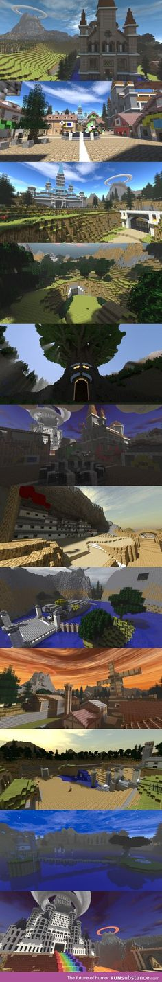 Legend of Zelda: Ocarina of Time Minecraft. Awesomeeeee but this would take so much time.....