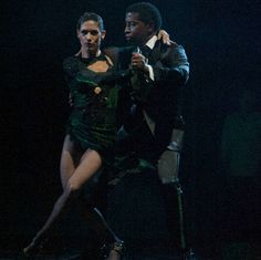 Babyface & Allison Argentine Tango TV Week The X-Files