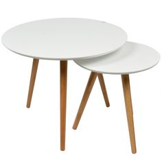 1000 images about id es pour la maison on pinterest bass tables and scand - Tables basses blanches ...