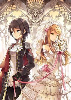 Victorian Anime Couple
